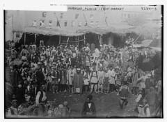 Ourmiah, Persia - Fruit Market  (LOC) (The Library of Congress) Tags: iran persia libraryofcongress bizarre fruitmarket urmia xmlns:dc=httppurlorgdcelements11 bainnewsservice greatmustachesoftheloc dc:identifier=httphdllocgovlocpnpggbain13061