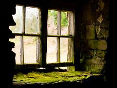 Mostly broken window, Wales