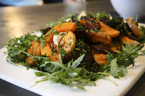 Beautiful Squash and Beetroot Salad