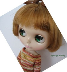 Blythe sweater in earth tones
