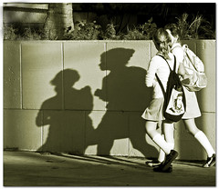 School girls  .. Cuba (Nick Kenrick.) Tags: school blackandwhite bw monochrome mono shadows candid cuba abigfave zedzap adrinnesmagicalmoments