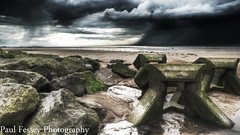 (Paul Fessey) Tags: new storm rain clouds paul photography moss nikon rocks brighton boulders moods vr d300 1685 fessey