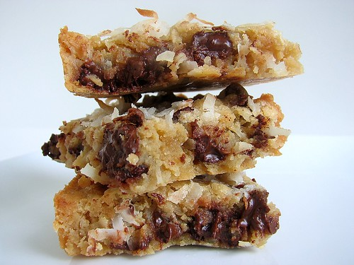 Coconut Chocolate Blondies2