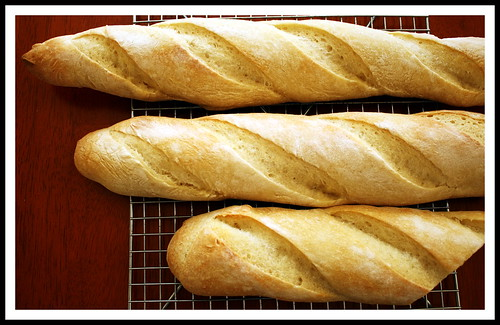 Baguettes- The Bread Baker's Apprentice, Peter Reinhart