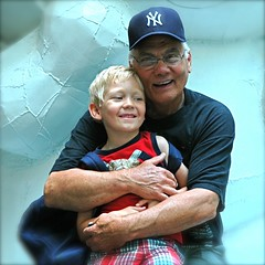 Billy and Myself (nikonman3) Tags: family boy portrait people usa children nikon child d70 d70s grandfather grandchildren newyorkcityd70s