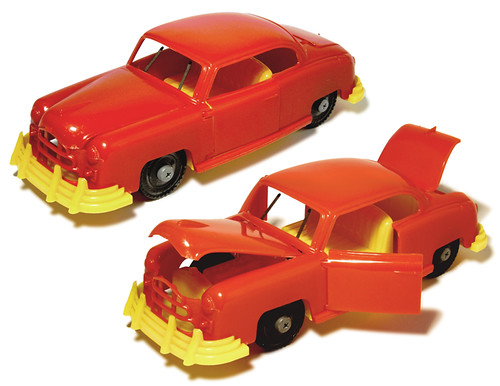 IDEAL's FIX-IT Toy Car, early 1950s