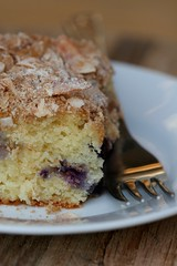 Blueberry Cake with Coconut Streusel 2
