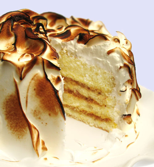 Tartine Lemon Meringue Cake Serves