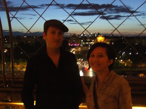 Over the Trocadero Gardens