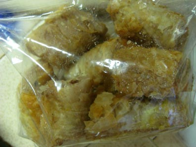 Baklava - homemade by my mom
