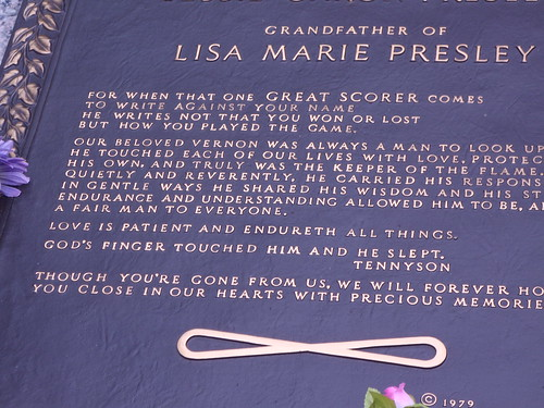 Grandfather to Lisa Marie Presley