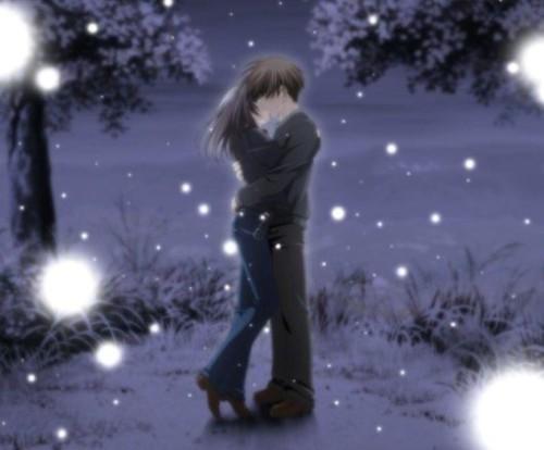cute anime couple. cute anime couple