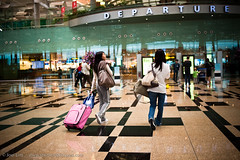 Solitaire - 59 Departures (Joel Lim   joellim.com) Tags: leaving airport nikon singapore changi departure goodbyes 2009 d3 departuregate 35mmf2d joellim shutterdpictures ifistretchoutmyhandwillyou aintitallweirdhowitendedup
