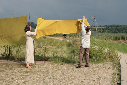 Tanja und Christoph Wagner von NordischWerk in Haithabu 09-08-2009
