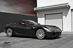 Project Kahn Ferrari 599 (Talal Al-Mtn) Tags: project ferrari kahn kuwait q8 kwt 599 talalalmtn طلالالمتن projectkahnferrari599 projectkahnferrari599standsoutinacrowdthecarbonf1xmagnesiumalloywheelscomplimentthesupercarssleeklooksbeautifully whilsttheinteriorcompletesthewholedrivingexperience