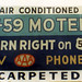 Emmett Mousley Sign - T-59 Motel