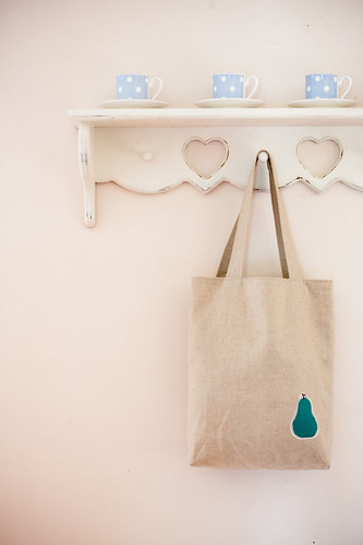 simple reversible tote bag