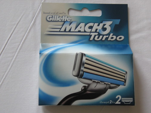 2 Blade Mach 3 turbo Pack