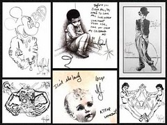 drawings by Michael Jackson (sunea) Tags: music for star michael king song drawings pop jackson forever bambi ever chanson musique