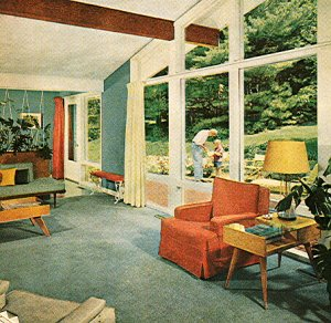1950s house interior. Mid Century Interior 2 1950 S Atomic Ranch House  More Mid Century Interior