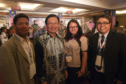 With Dr. Victor Wee, Chairman of Tourism Malaysia