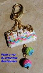 interview/Entrevista en Beads Perles (marinabead) Tags: beads bijoux peyote rocaille