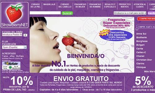 Compra online de perfumes y cosméticos Strawberry.net