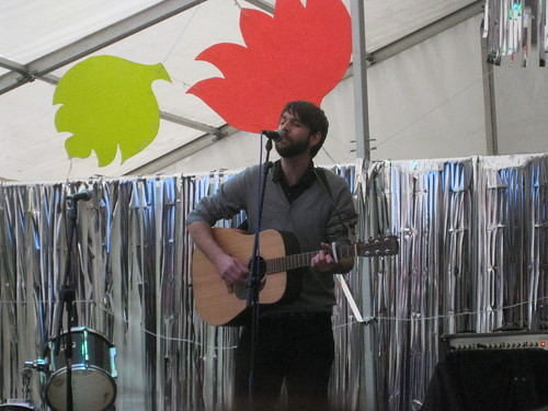 James Summerfield at Moseley Folk Festival