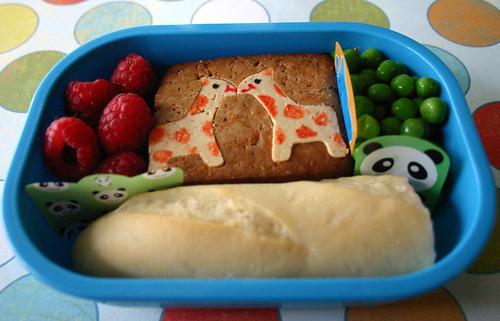 Kindergarten Bento #232: September 9, 2009