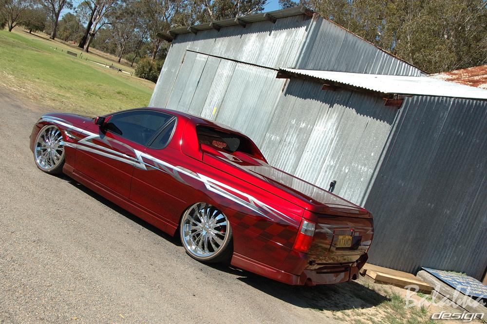 Holden Maloo Ute. Holden Maloo Ute 2010.