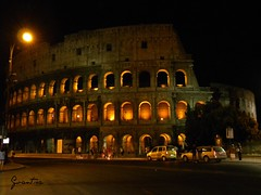 Colosseo (Gvantsa27) Tags: light summer italy rome roma history love night fun wolf king italia via romulus di ti amo remus colum fori colosseo imperiali 5photosaday srip