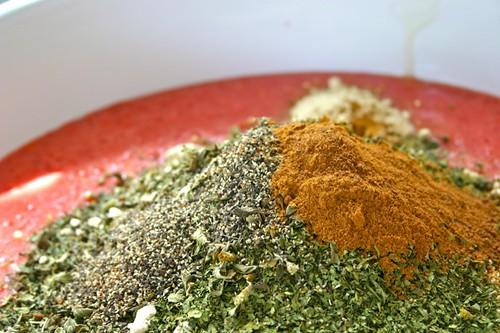 spices for sauce