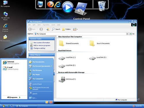 3919807022 89843021a6 Windows 7 And Vista Themes / Visual Styles For Windows XP