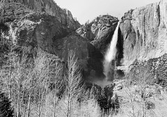 Doesn't Understand, Doesn't Try (Thomas Hawk) Tags: california bw waterfall yosemite natureshand