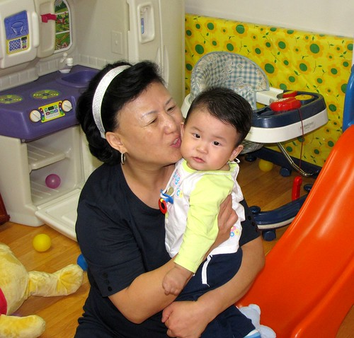 Foster Mother with YJ