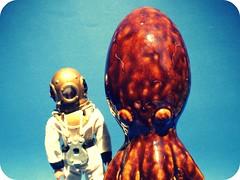 Octopus's Garden (8 Skeins of Danger) Tags: garden octopus beatles ringo deepseadiver madelman 8skeinsofdanger