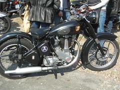 BSA monocylindre (gueguette80 ... non voyant pour une dure indte) Tags: old bikes british racer picardie motos bsa somme anciennes classicbikes anglaises ricket airaines monocylindre