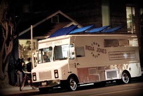 India Jones Chow Truck, Abbot Kinney, First Friday by you.