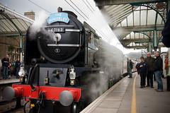 Tornado (nogger) Tags: uk station train canon yorkshire rail railway steam locomotive a1 tornado steamengine steamtrain skipton peppercorn thewaverley uksteam 40d 60163 tamronspaf1750f28xr a1pacific