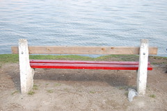 The Bench (11) (Istvan) Tags: bench hungary frombehind duna danube donau rckeve vogonpoetry