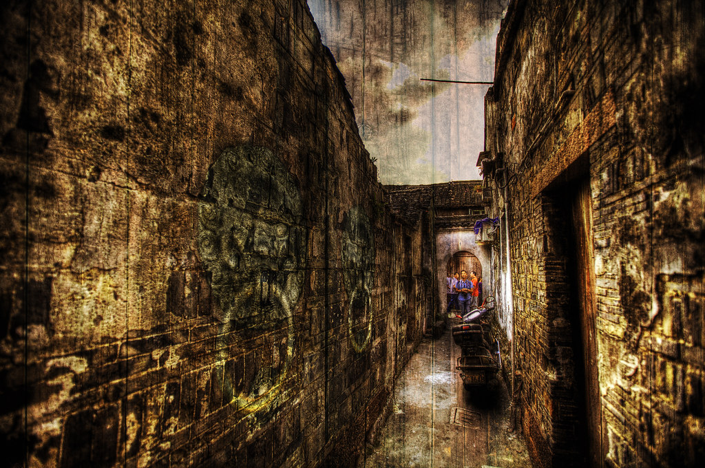 Wuzhen: Tight Alleys.