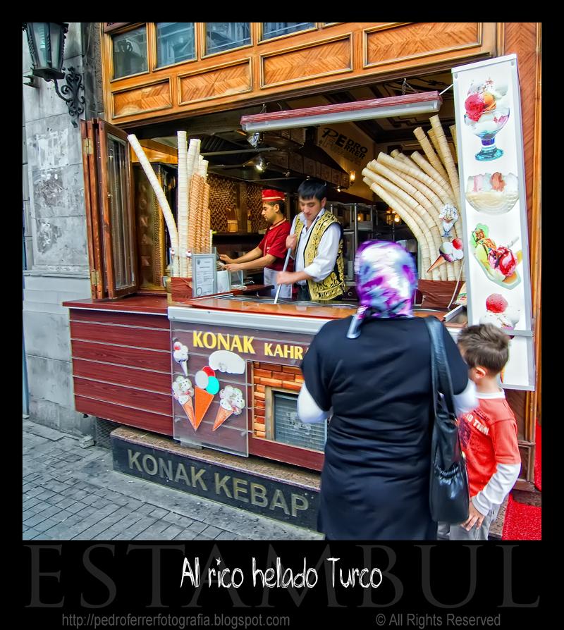 Al rico helado turco