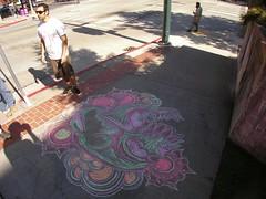 Kenji, Master Chalk Sculptor