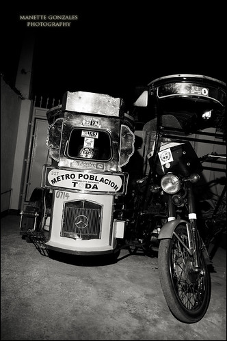 Tricycle B&W