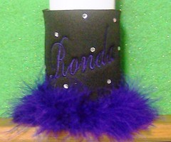 black and purple (The Koozie Floozie) Tags: college beverage disney snowwhite evilqueen personalizedbeerkoozies