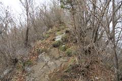 赤岩の岩ののぼり