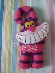 Maaneta - Gato Cheshire (Artes da Fl!) Tags: cheshire feltro maaneta gatorisonho bichinhosdemaaneta