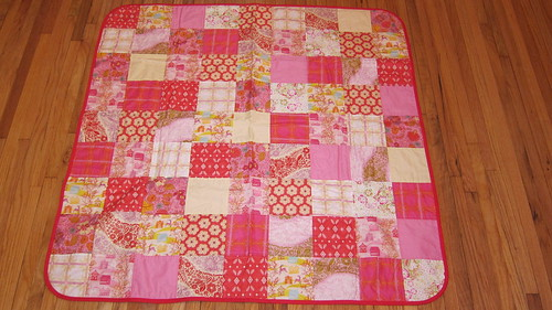 Patchwork Voile Receiving Blanket