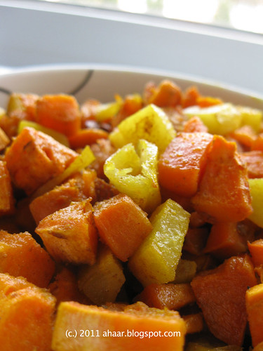 Sweet potato & potato fry