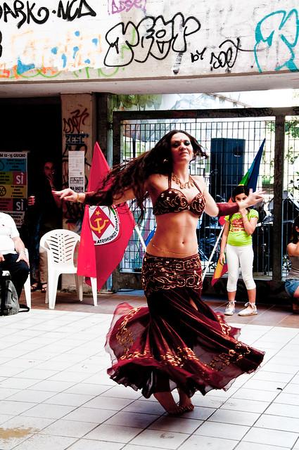 Danza Orientale al centro sociale-0189